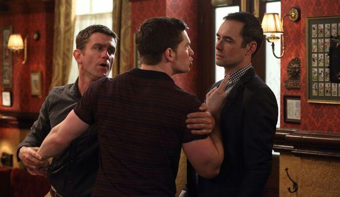 Joey warns Michael off Alice