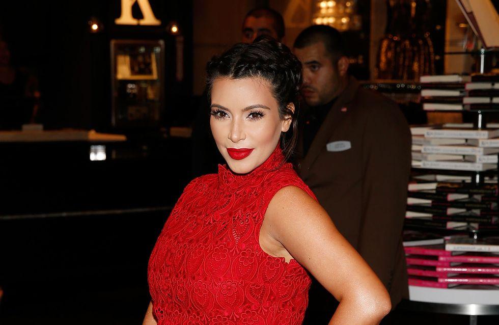 Kim Kardashian : Elle mangera son placenta après l'accouchement