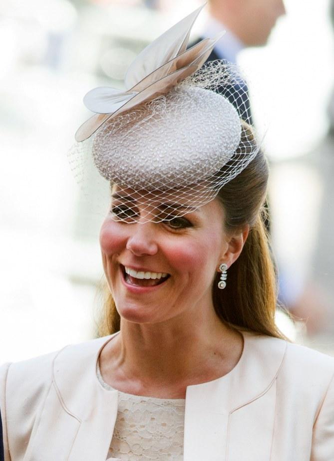 Kate Middleton ce matin