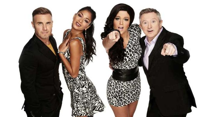 Tulisa Contostavlos on The X Factor