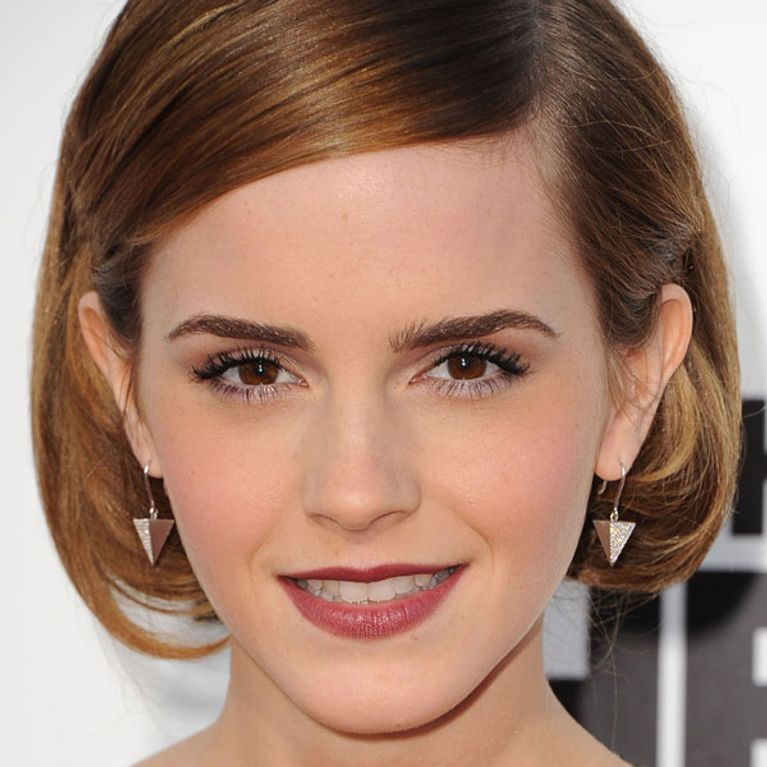 Emma Watson hair Get her faux bob hairstyle.