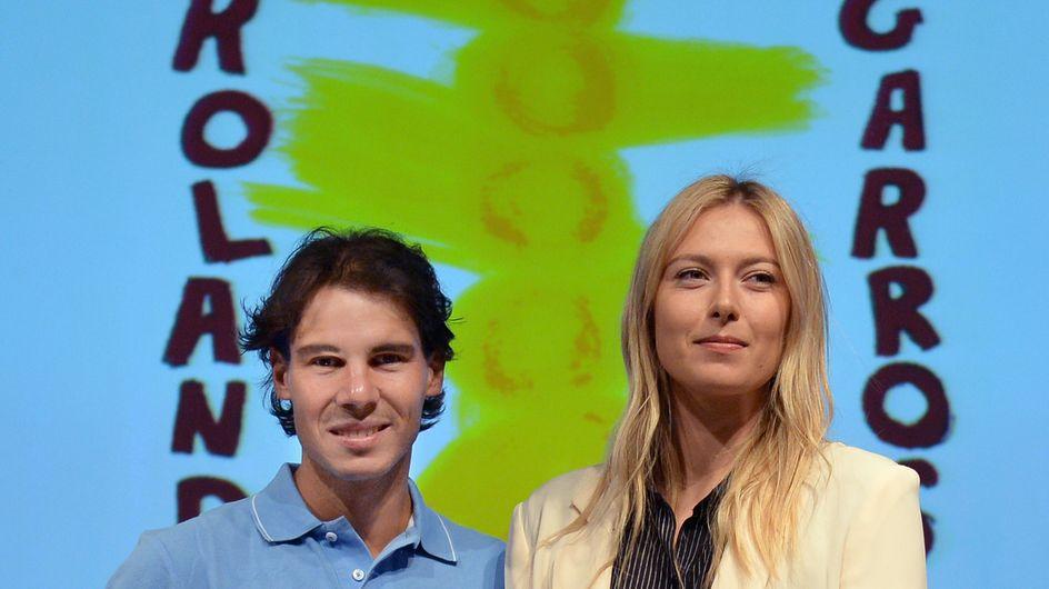 Roland Garros : Nadal et Sharapova, les amants sulfureux (photos)