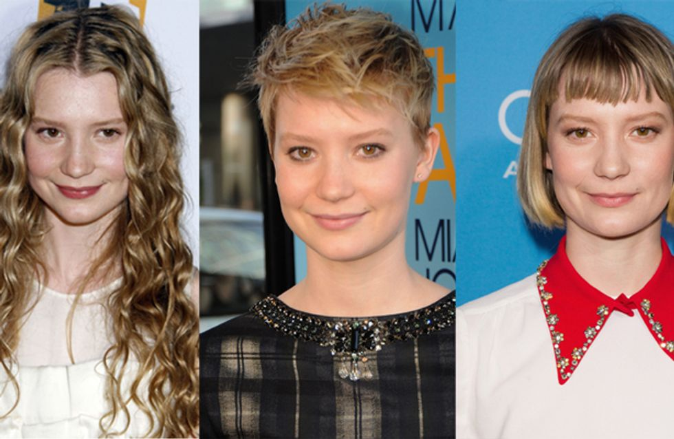 Mia Wasikowska : Sa terrible transformation capillaire (photos)