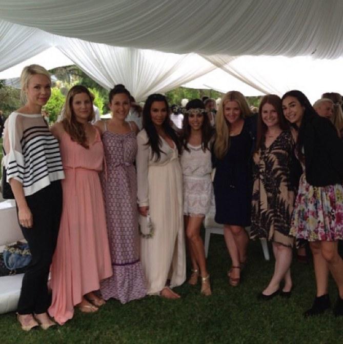 Kim Kardashian pendant sa baby shower dimanche dernier