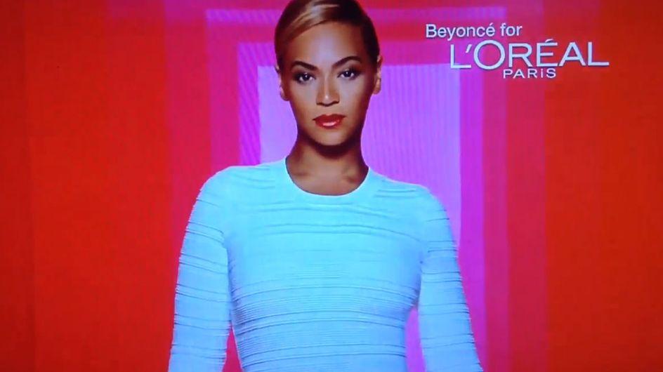 Découvrez Beyoncé dans sa dernière pub pour L'Oréal (Vidéo)