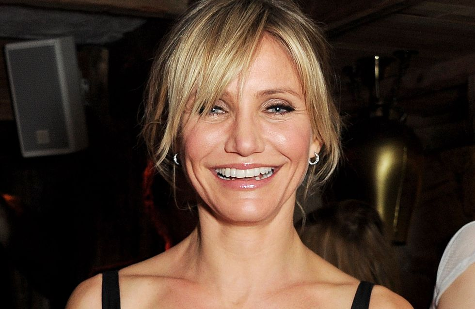 Cameron Diaz enceinte... (photo)