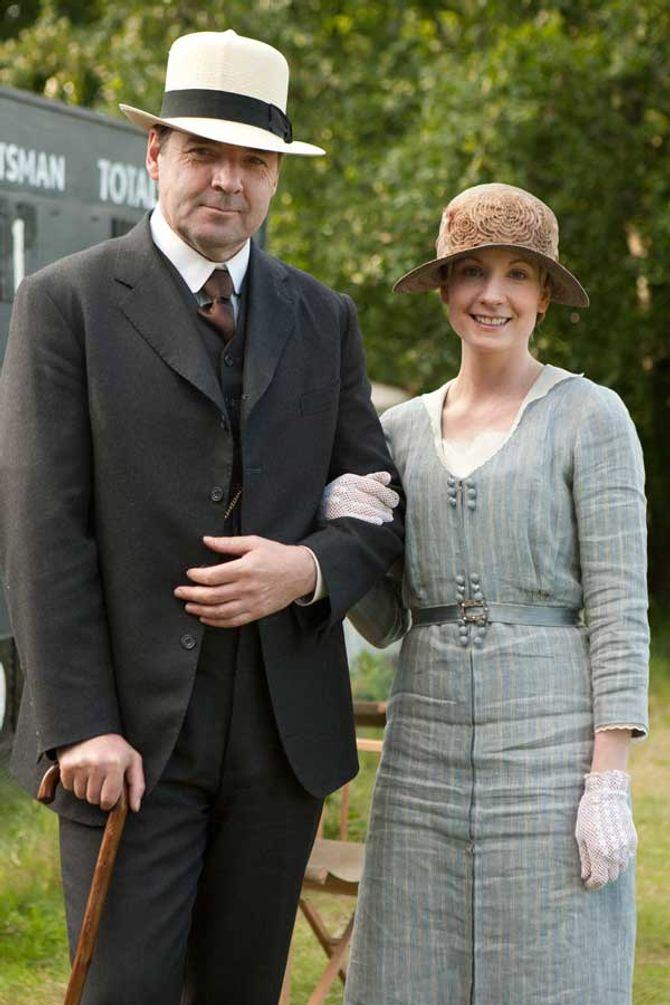 Brendan Coyle and Joanne Froggatt