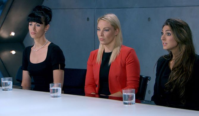 Team Evolve in the boardroom