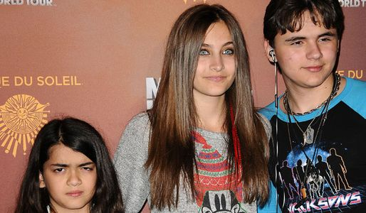 Blanket, Paris and Prince Michael Jackson