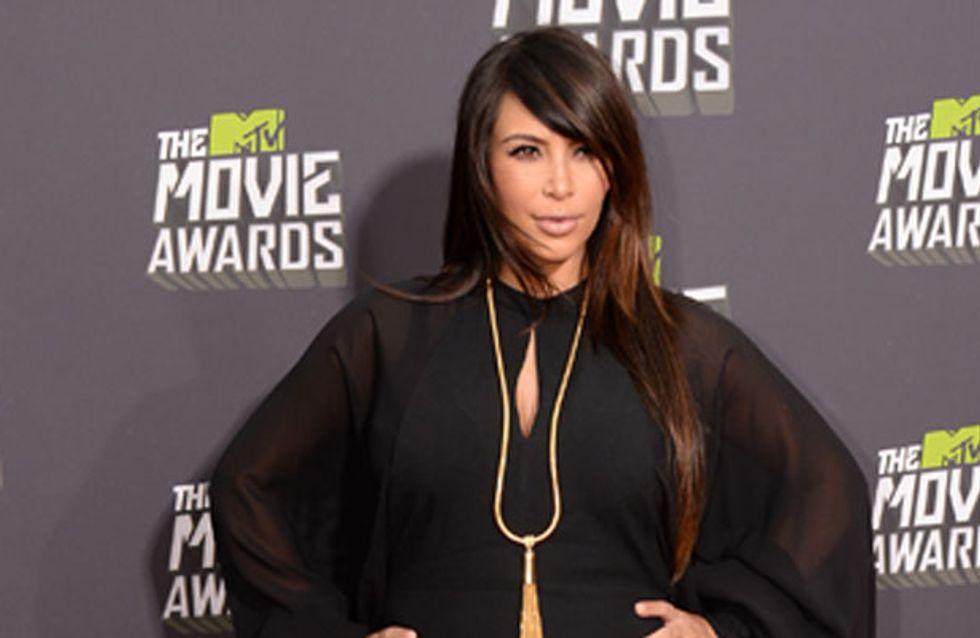 Kim Kardashian's pregnant body inspires nude fertility statue