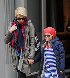 Michelle Williams et sa fille Mathilda