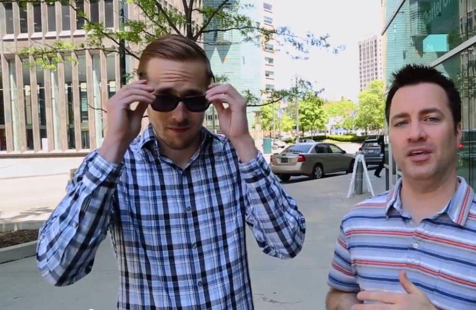 Un sosie de Ryan Gosling berne les fans de l'acteur ! (Vidéo)