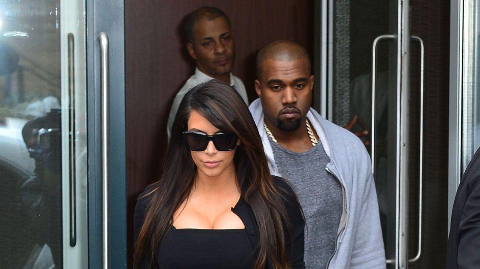 Kim Kardashian : Kanye West ne veut pas assister à l'accouchement