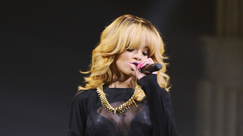 Rihanna : Plus sexy que jamais au Stade de France