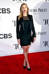 Scarlett Johansson aux Tony Awards ce week-end