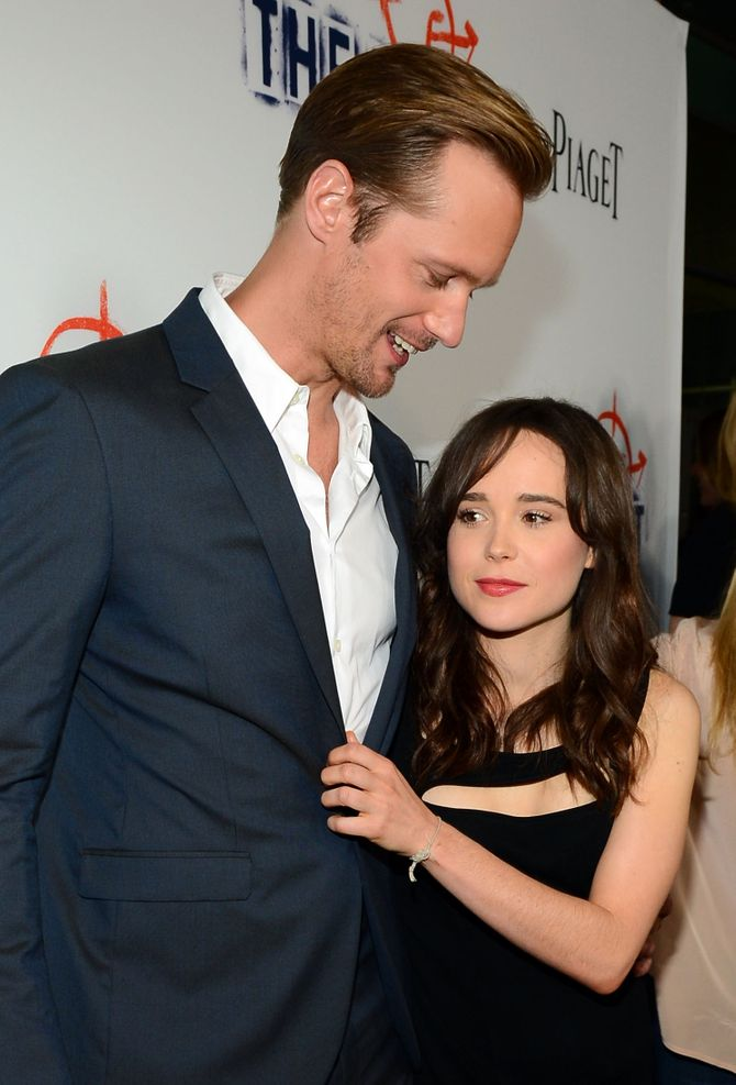 Ellen Page et Alexander Skarsgard