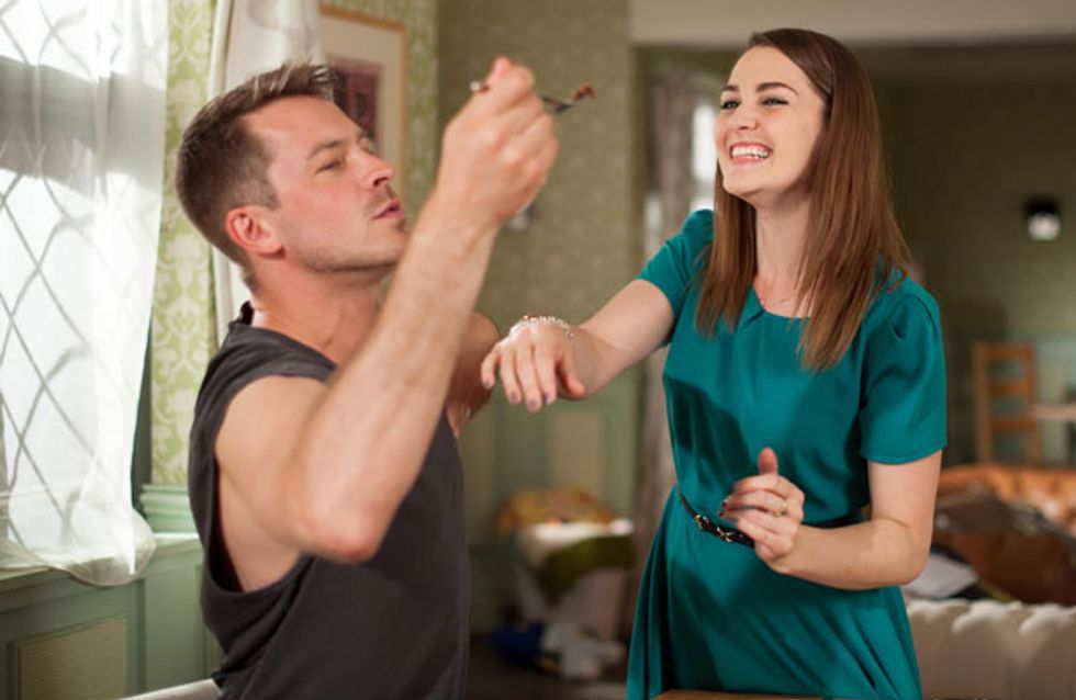 Hollyoaks 17/06 - Sienna works hard on becoming part of the Osbourne family