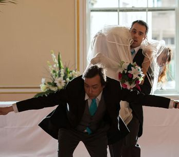 Hollyoaks 19/06 - Paul drags Mercy down the aisle