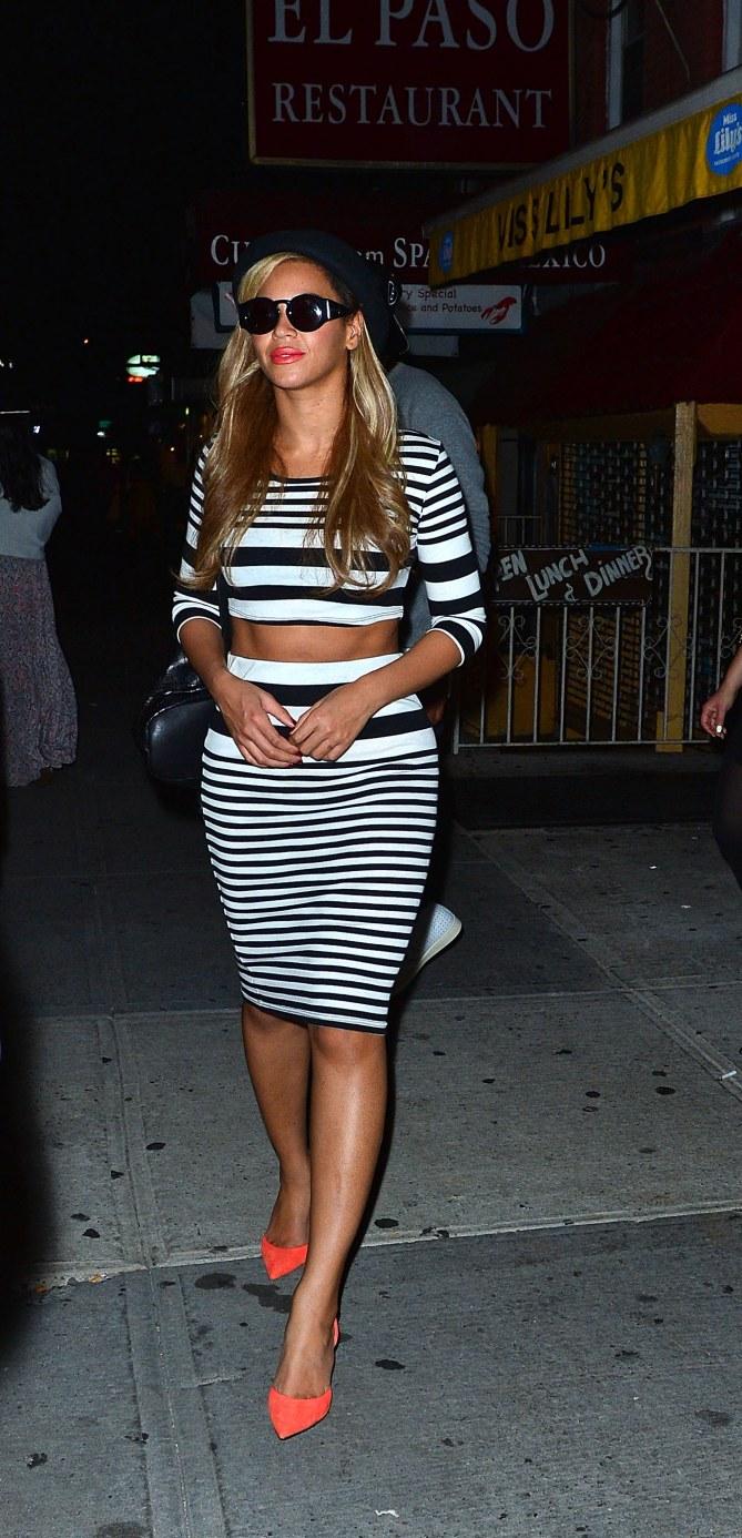 Beyoncé : Sa tenue Topshop pour Kanye West
