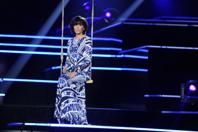 Jenifer dans 'Samedi soir on chante France Gall'