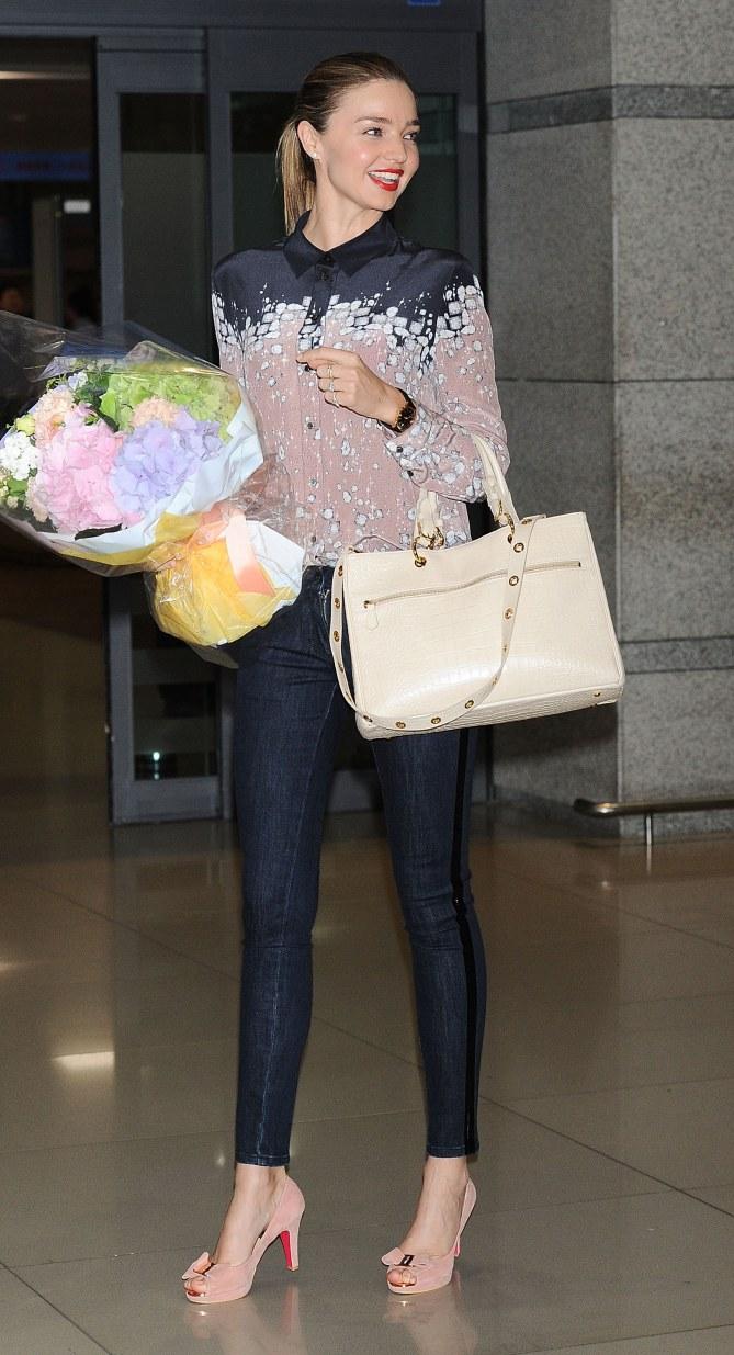 Miranda Kerr en Corée du Sud