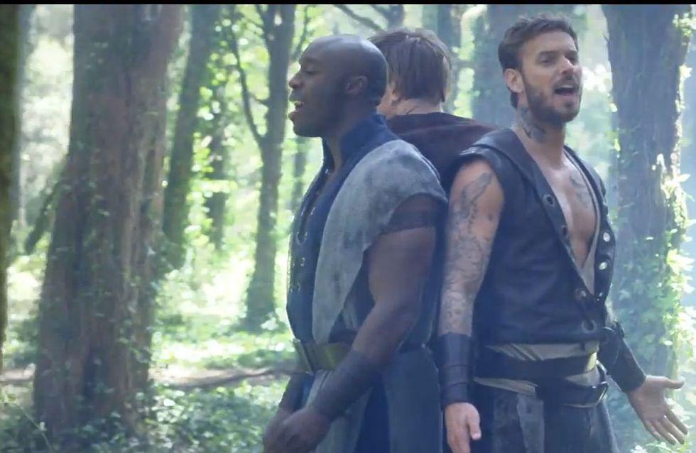 M. Pokora : Découvrez A nous, le nouveau clip de Robin des Bois (vidéo)