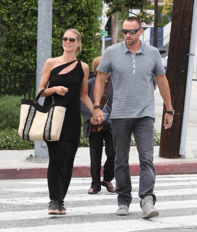 Heidi Klum et son boyfriend Martin Kristen