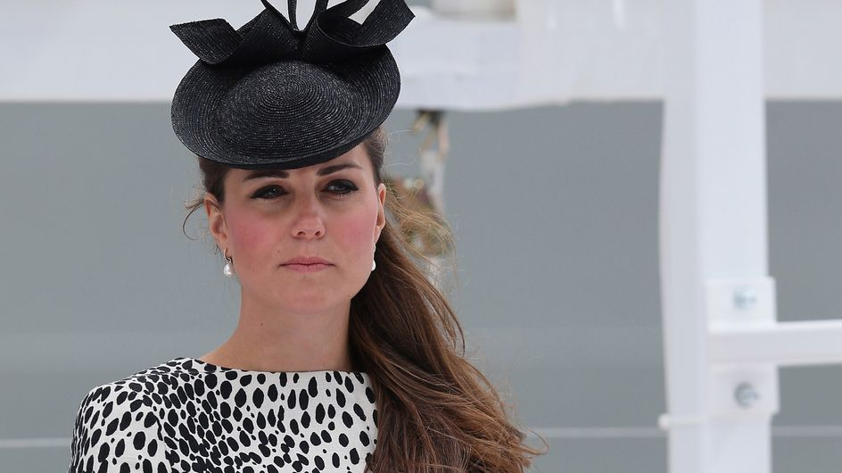 Kate Middleton : Elle ose le look dalmatien (Photos)