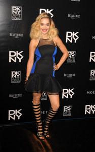 Rita Ora à la soirée DKNY Artworks