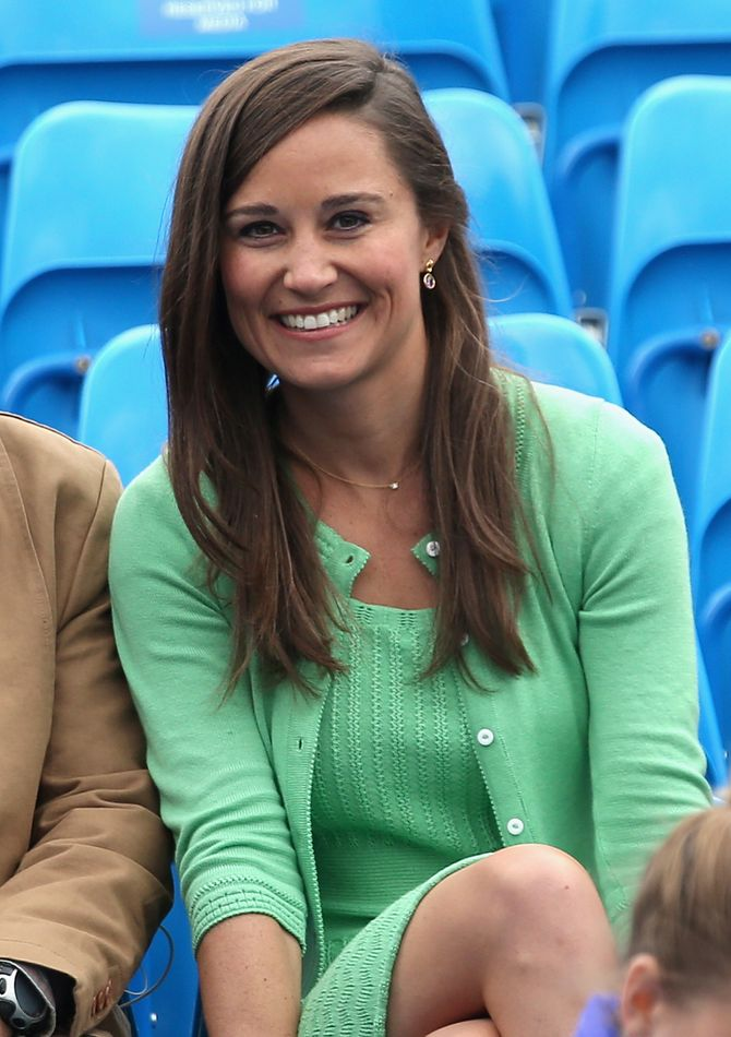 Pippa Middleton lors d'un match de tennis