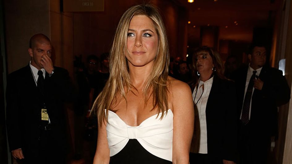 Jennifer Aniston talks post-sex wedding hair and why she's in awe of Kate Middleton