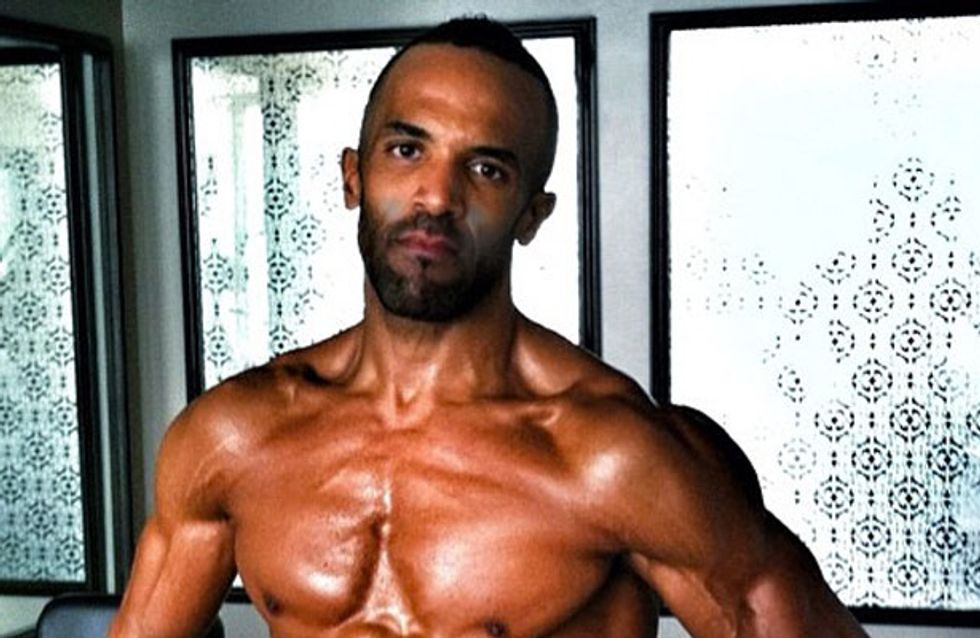 Craig David pictures: Topless singer shows off shocking ripped body