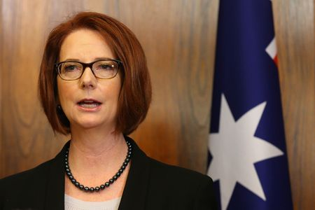 Julia Gillard, première ministre australienne