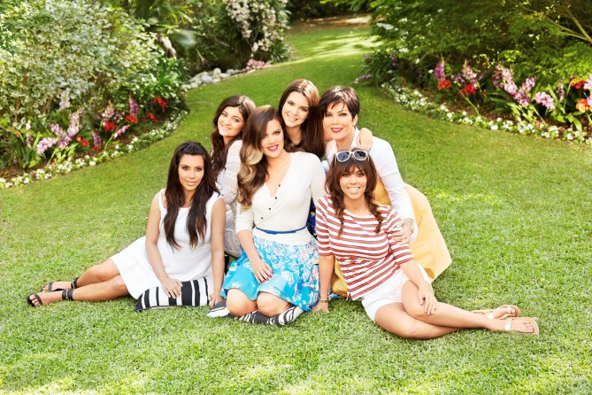 Les filles de la familles Kardashian
