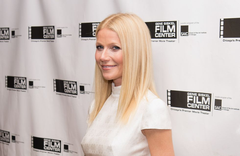 Gwyneth Paltrow sans soutien-gorge : Attention, ça pointe ! (Photo)