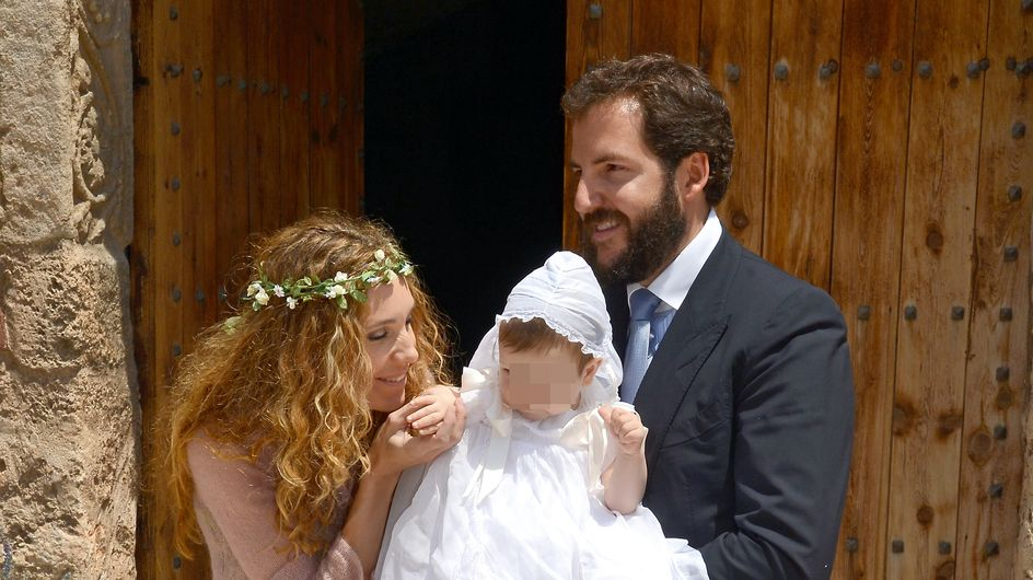 Borja Thyssen y Blanca Cuesta bautizan a su hijo sin la presencia de Tita