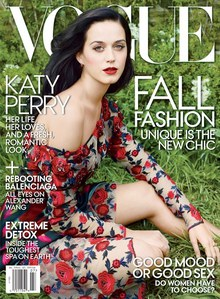 Katy Perry pour Vogue