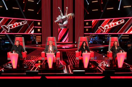 Les 4 coachs de The Voice