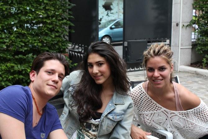 Manurey, Sarah Bismuth et Sophie Tapie de The Voice