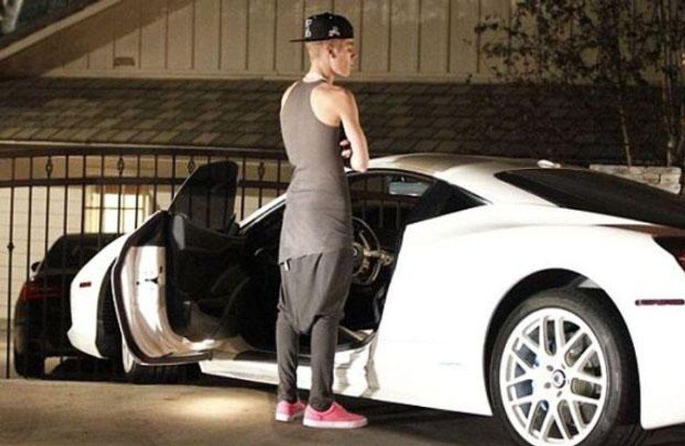 Justin Bieber atropella a un fotógrafo a la salida de una discoteca