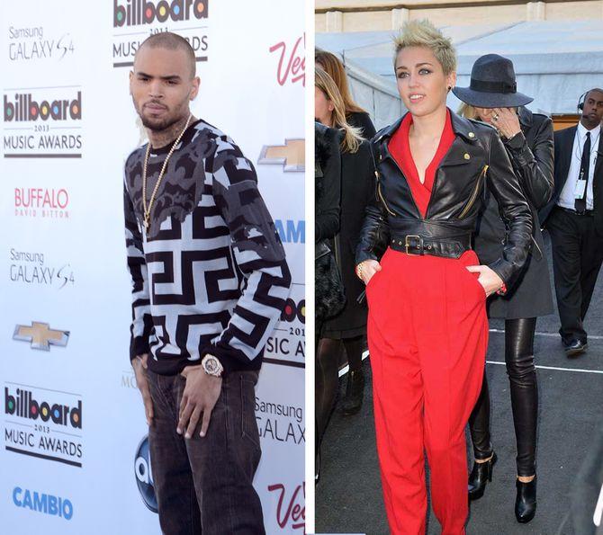 Miley Cyrus et Chris Brown : Les stars qui ont la pire influence sur les ados