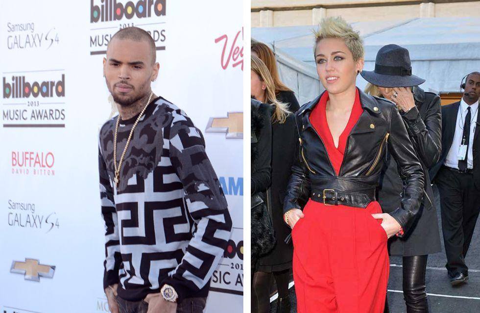 Miley Cyrus et Chris Brown : Elus stars qui ont la pire influence sur les ados