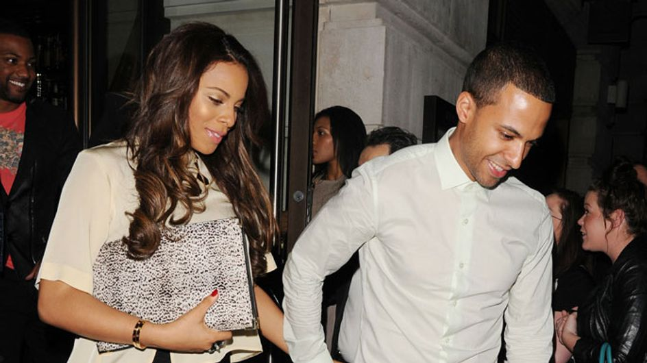 Rochelle Humes shows off her post-baby body on night out with Marvin
