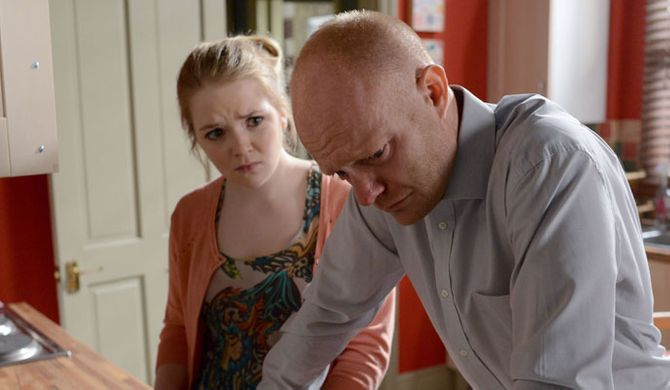 Max tells Abi why he won't be going back to Kirsty's