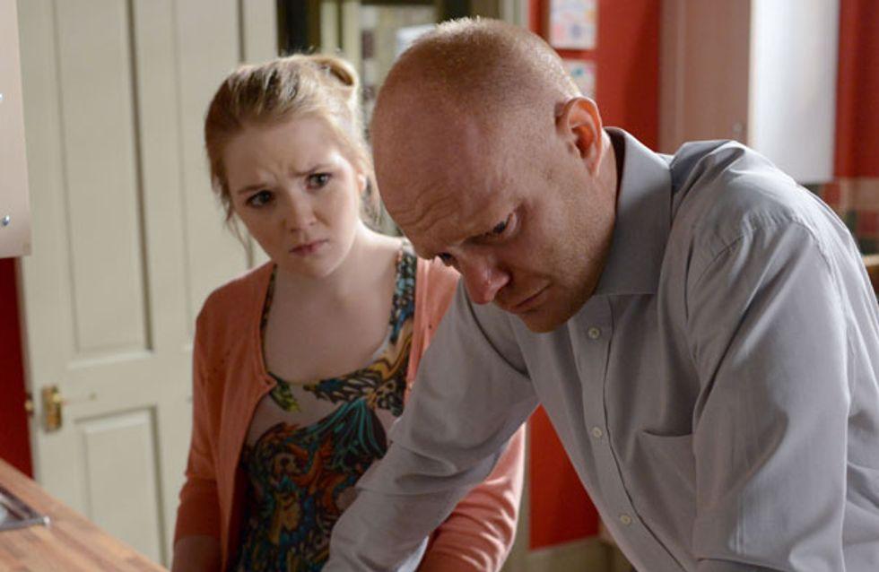 EastEnders 01/07 - Max reveals Kirsty's lie