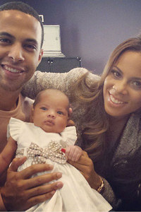 Marvin, Rochelle and baby Alaia-Mai