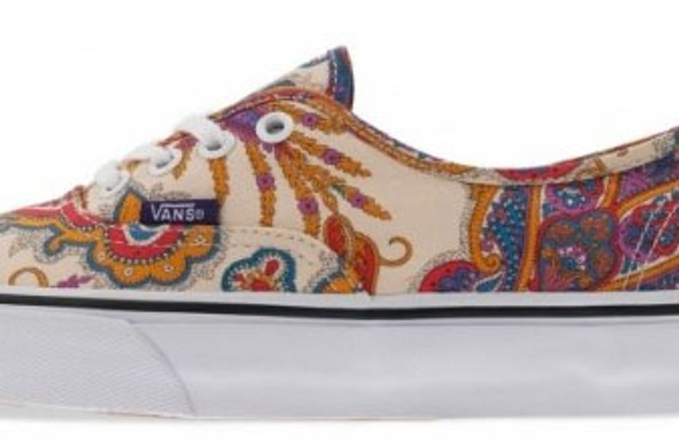 Vans X Liberty, la collaboration cool et fleurie !