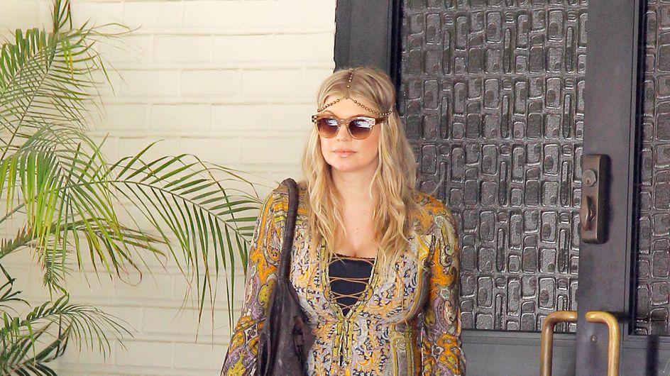 Fergie et son look trop hippie de femme enceinte
