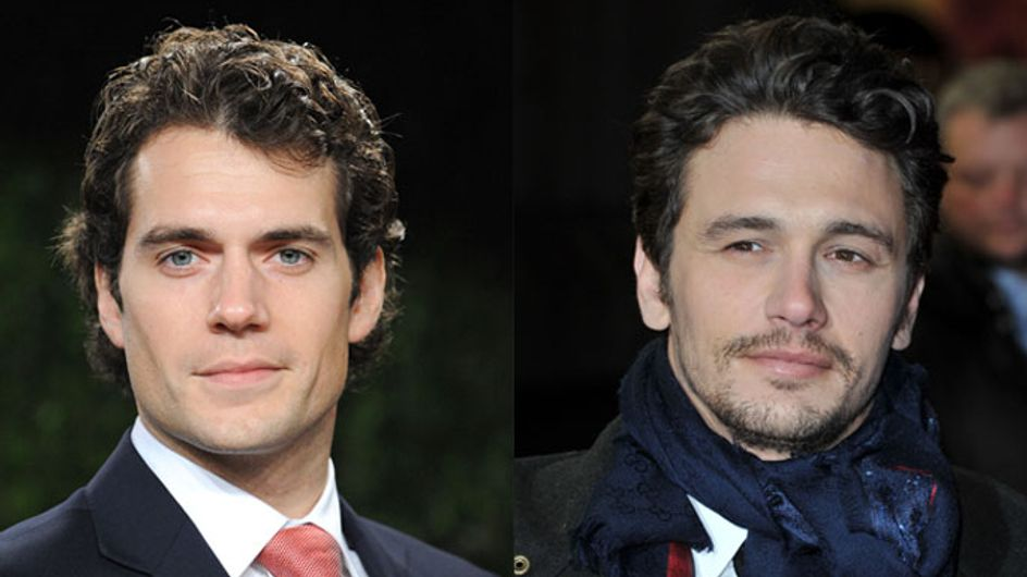"James Franco went ""incognito"" to Man Of Steel to avoid Henry Cavill"