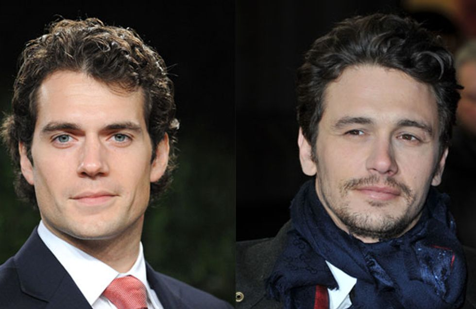 James Franco went incognito to Man Of Steel to avoid Henry Cavill